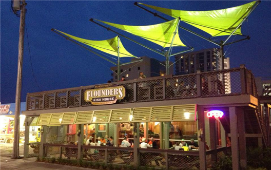 Flounder's Fish House in Cherry Grove
