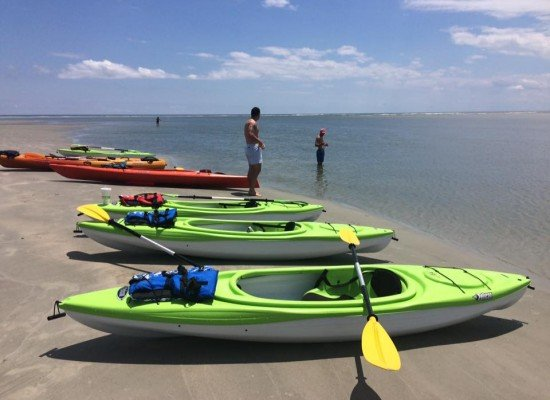 Kayaking in Cherry Grove