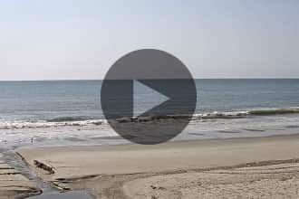 Guy Daniels surf cam in Surfside Beach, SC