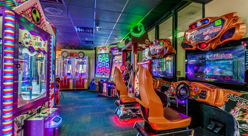 Indoor arcade for kids and adults
