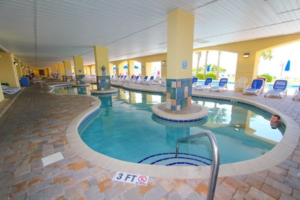 Indoor lazy river at Camelot by the Sea