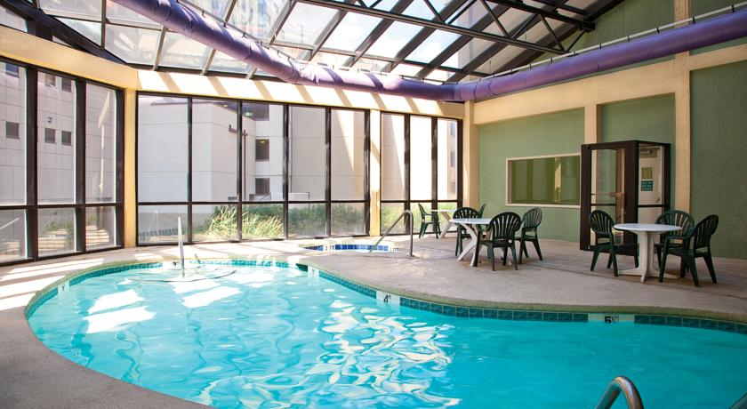 Indoor pool at Beach Cove