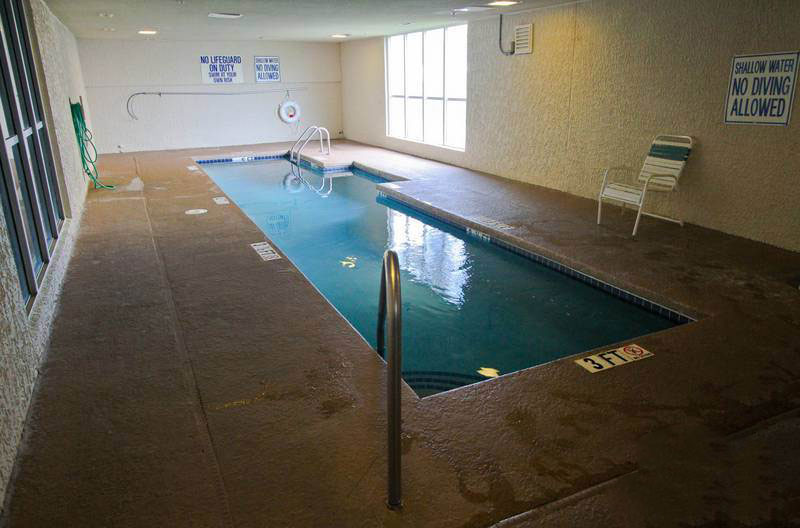 Indoor pool at Ocean Bay Club