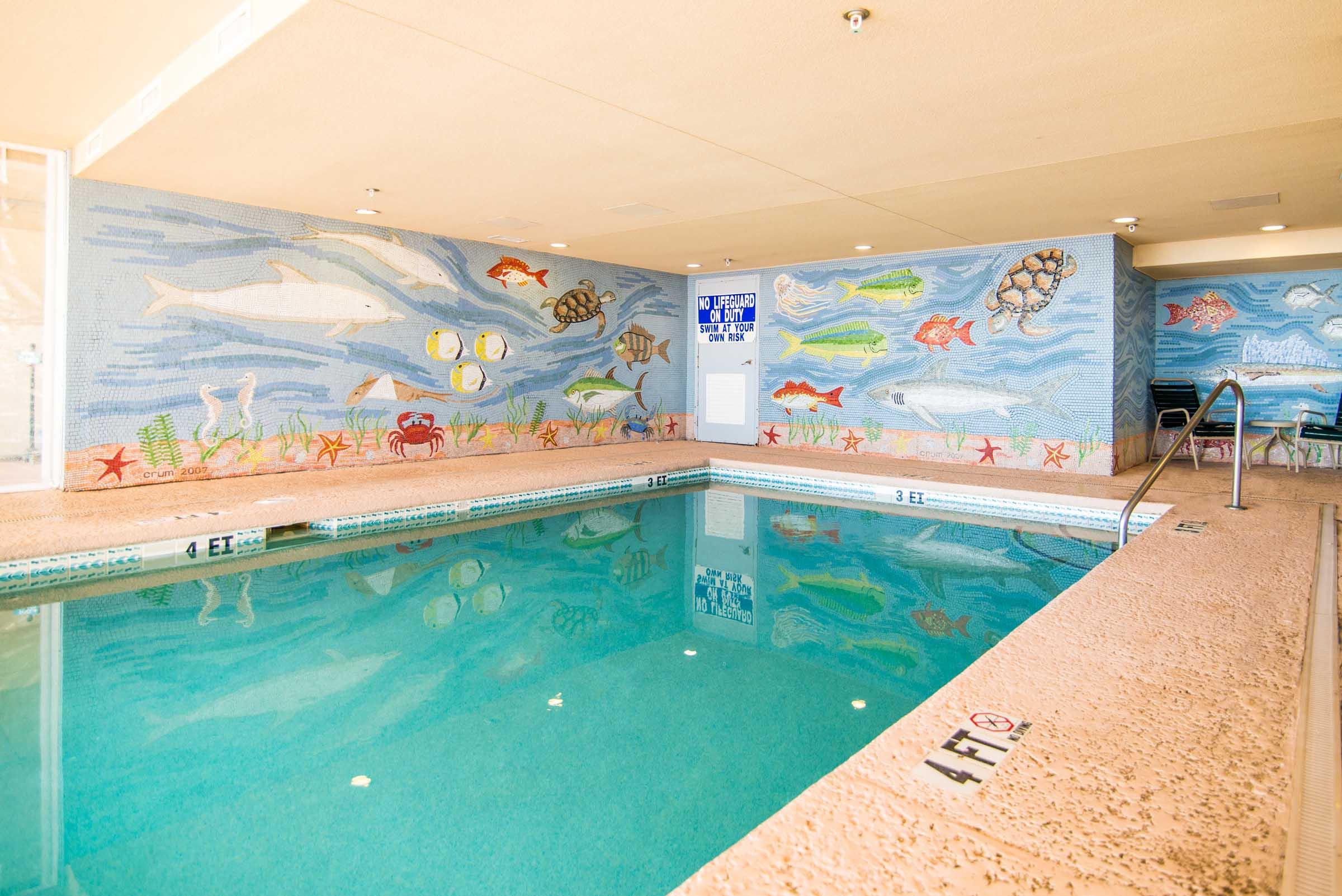 Indoor pool at The Ashworth