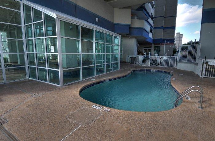 Outdoor kids pool