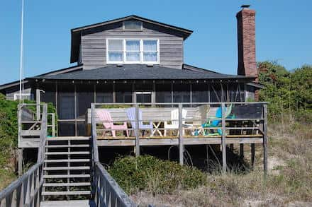 View of beach house in Pawleys Island